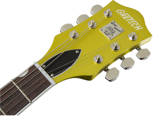 G6120T-HR Brian Setzer Signature Hot Rod Hollow Body with Bigsby®, Rosewood Fingerboard, Lime Gold