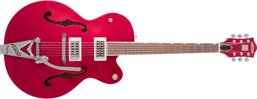G6120T-HR Brian Setzer Signature Hot Rod Hollow Body with Bigsby®, Rosewood Fingerboard, Magenta Sparkle