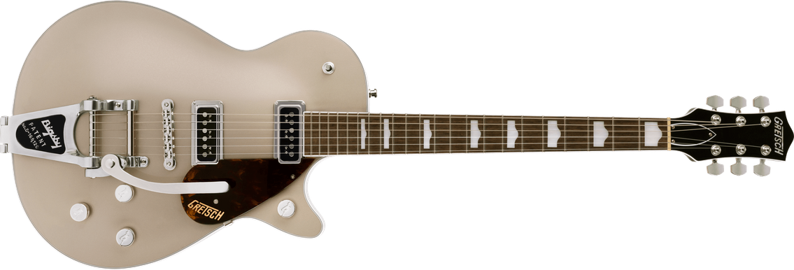 G6128T Players Edition Jet™ DS with Bigsby®, Rosewood Fingerboard, Sahara Metallic