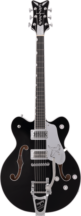 G6636TSL Players Edition Silver Falcon™ Center Block Double-Cut With String-Thru Bigsby®