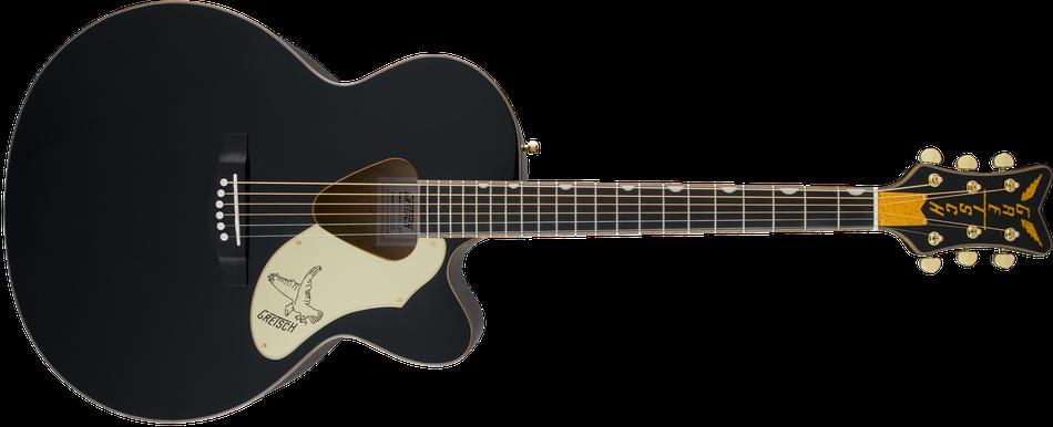 G5022CBFE Rancher™ Falcon™ Jumbo Cutaway Acoustic/Electric, Fishman® Pickup System, Black