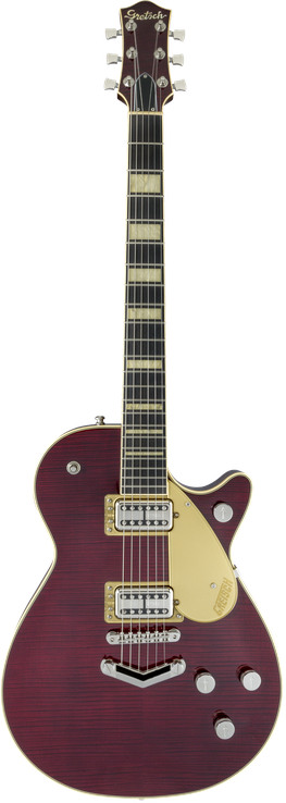 G6228FM Players Edition Jet™ BT with V-Stoptail and Flame Maple
