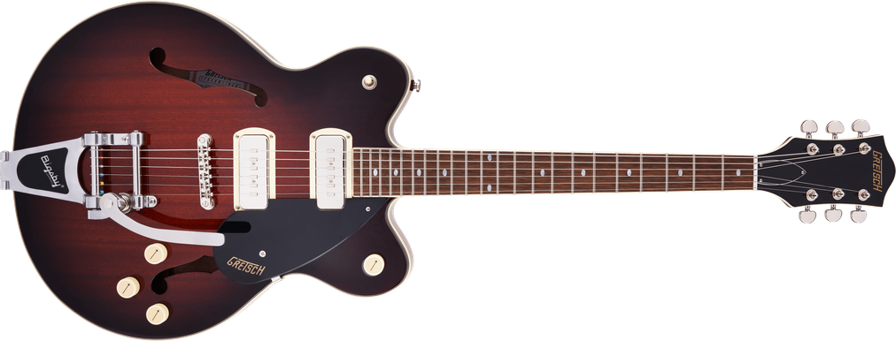 G2622T-P90 Streamliner™ Center Block Double-Cut P90 with Bigsby®, Laurel Fingerboard, Forge Glow