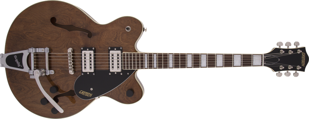 G2622T Streamliner™ Center Block Double-Cut with Bigsby®, Laurel Fingerboard, Broad'Tron™ BT-2S Pickups, Imperial Stain