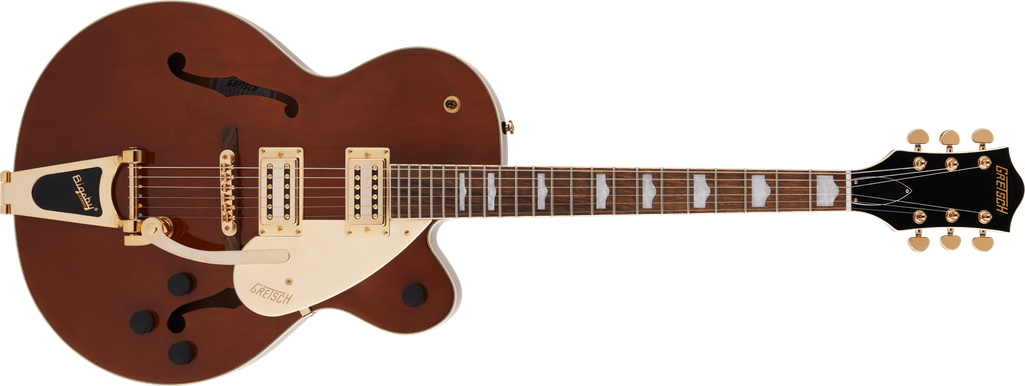 G2410TG Streamliner™ Hollow Body Single-Cut with Bigsby® and Gold Hardware, Laurel Fingerboard, Single Barrel