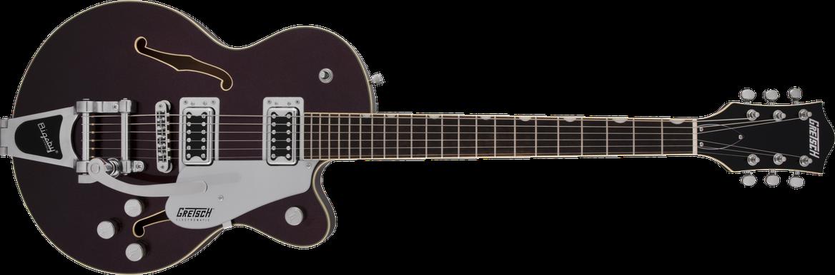 G5655T Electromatic® Center Block Jr. Single-Cut with Bigsby®, Dark Cherry Metallic
