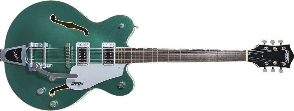 G5622T Electromatic® Center Block Double-Cut with Bigsby®, Laurel Fingerboard, Georgia Green