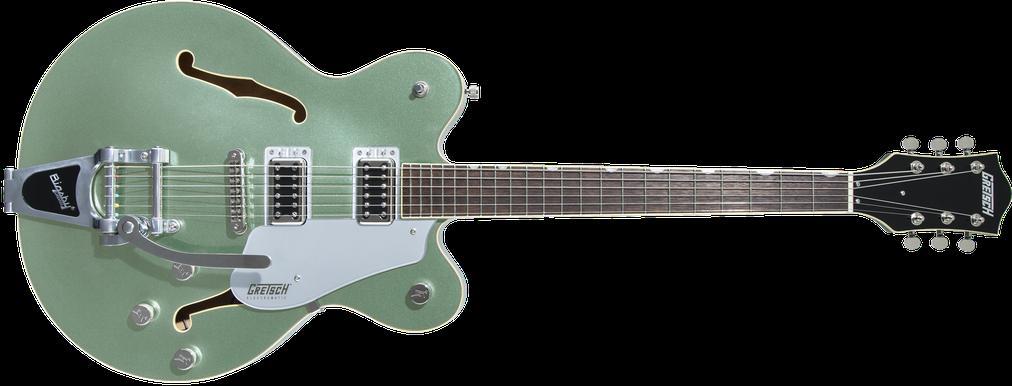 G5622T Electromatic® Center Block Double-Cut with Bigsby®, Laurel Fingerboard, Aspen Green