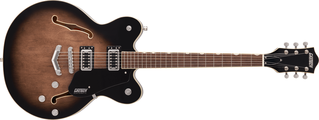 G5622 Electromatic® Center Block Double-Cut with V-Stoptail, Laurel Fingerboard, Bristol Fog