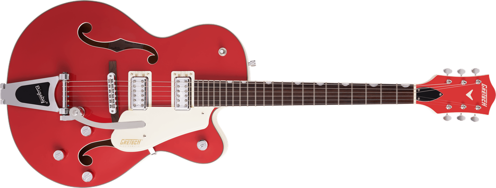 G5410T Limited Edition Electromatic® Tri-Five Hollow Body Single-Cut with Bigsby®, Rosewood Fingerboard, Two-Tone Fiesta Red/Vintage White