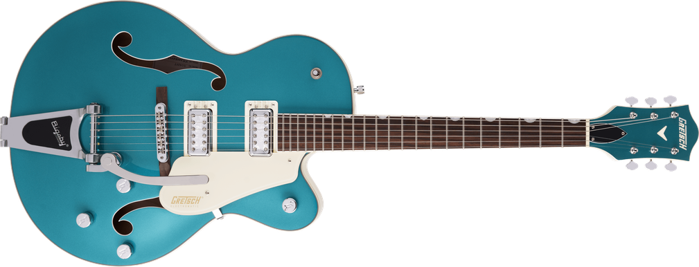 G5410T Limited Edition Electromatic® Tri-Five Hollow Body Single-Cut with Bigsby®, Rosewood Fingerboard, Two-Tone Ocean Turquoise/Vintage White