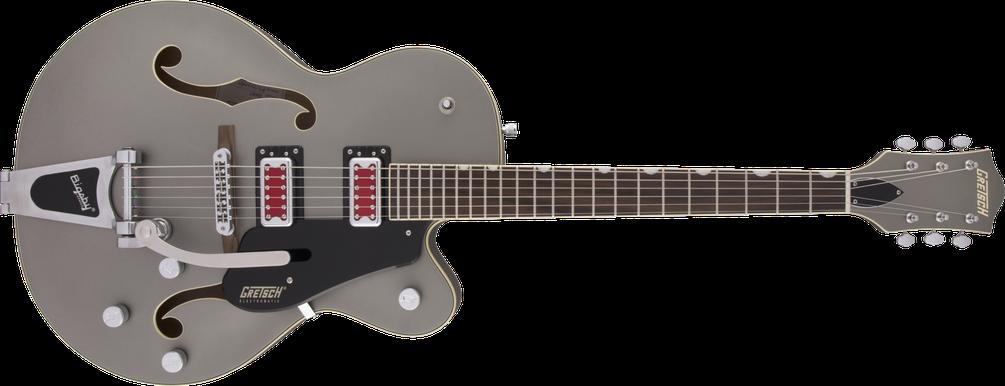 "G5410T Electromatic® ""Rat Rod"" Hollow Body Single-Cut with Bigsby®, Rosewood Fingerboard, Matte Phantom Metallic"