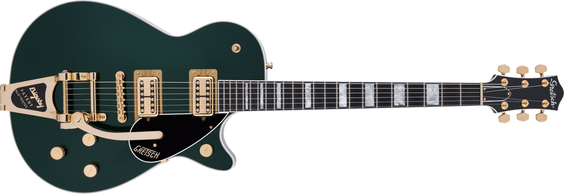 G6228TG Players Edition Jet™ BT with Bigsby® and Gold Hardware, Ebony Fingerboard, Cadillac Green