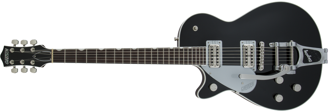 G6128TLH Players Edition Jet™ FT with Bigsby®, Left-Handed, Rosewood Fingerboard, Black
