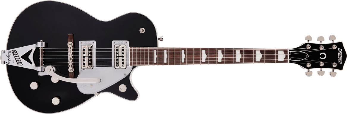 G6128T-89 Vintage Select '89 Duo Jet™ with Bigsby®, Rosewood Fingerboard, Black