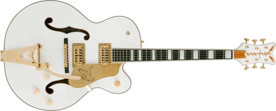 G6136T-MGC Michael Guy Chislett Signature Falcon™ with Bigsby®, Ebony Fingerboard, Vintage White