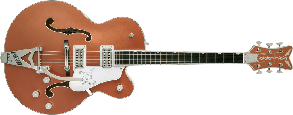 Limited Edition - G6136T Limited Edition Falcon™ with Bigsby®, Ebony Fingerboard, Two-Tone Copper/Sahara Metallic