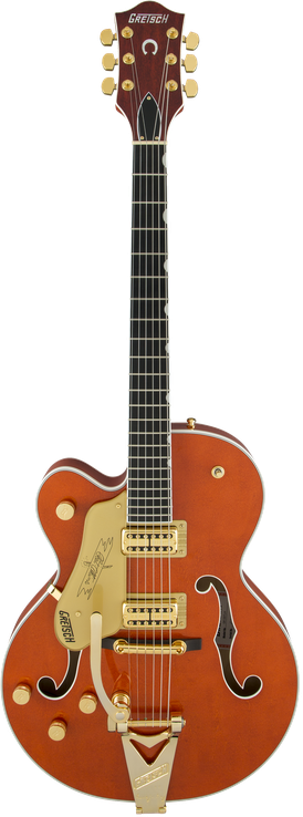 G6120TLH Players Edition Nashville® Hollow Body with Bigsby®, Left-Handed