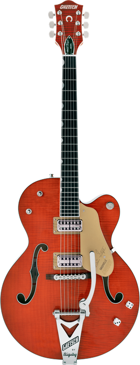 G6120TFM-BSNV Brian Setzer Signature Nashville® Hollow Body with Bigsby® and Flame Maple