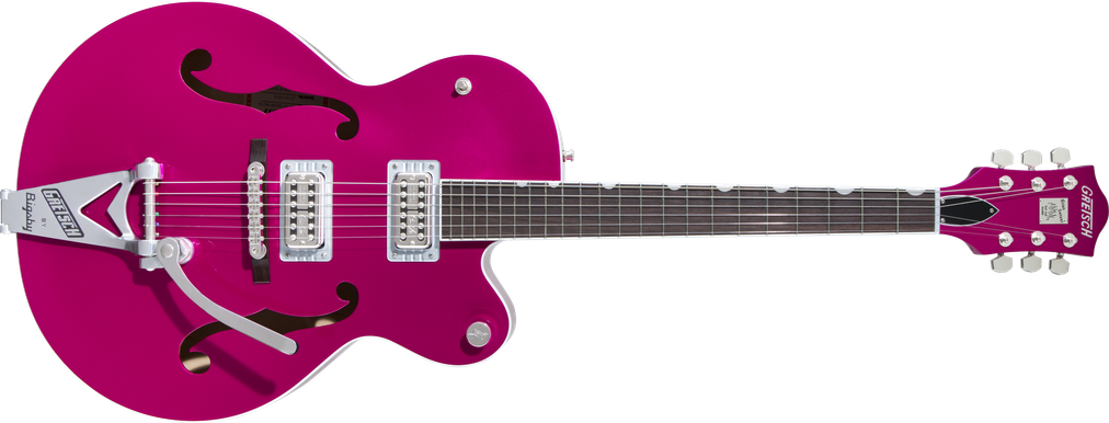 G6120T-HR Brian Setzer Signature Hot Rod Hollow Body with Bigsby®, Rosewood Fingerboard, Candy Magenta