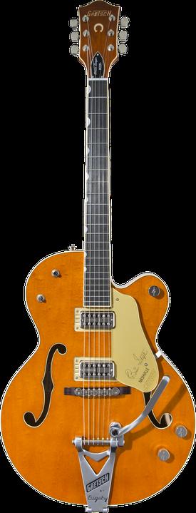 "G6120T-BSSMK Brian Setzer Signature Nashville® Hollow Body '59 ""Smoke"" with Bigsby®"