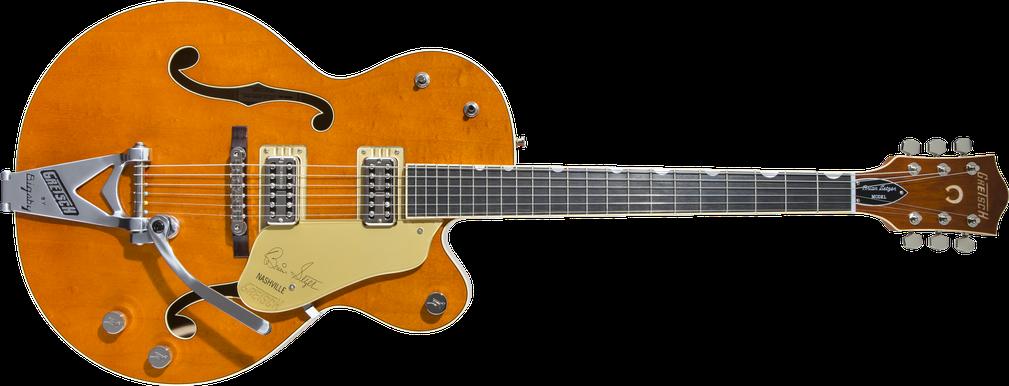 "G6120T-BSSMK Brian Setzer Signature Nashville® Hollow Body '59 ""Smoke"" with Bigsby®, Ebony Fingerboard, Smoke Orange"