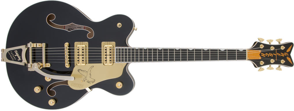 G6636T Players Edition Falcon™ Center Block Double-Cut with String-Thru Bigsby®, Filter'Tron™ Pickups, Black