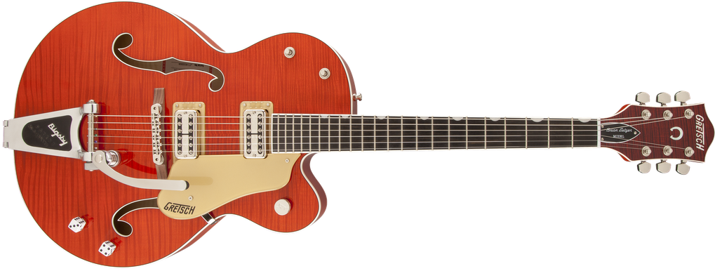 G6120SSL-OFLM Brian Setzer Nashville® with Bigsby®, TV Jones® Setzer Pickups, Tiger Flame Maple, Lacquer