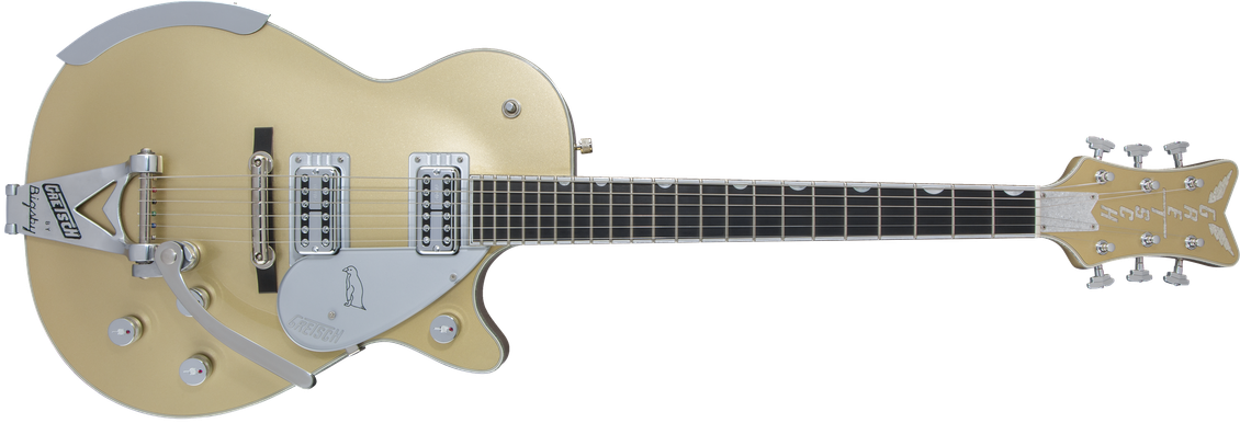 Limited Edition - G6134T Limited Edition Penguin™ with Bigsby®, Ebony Fingerboard, Casino Gold
