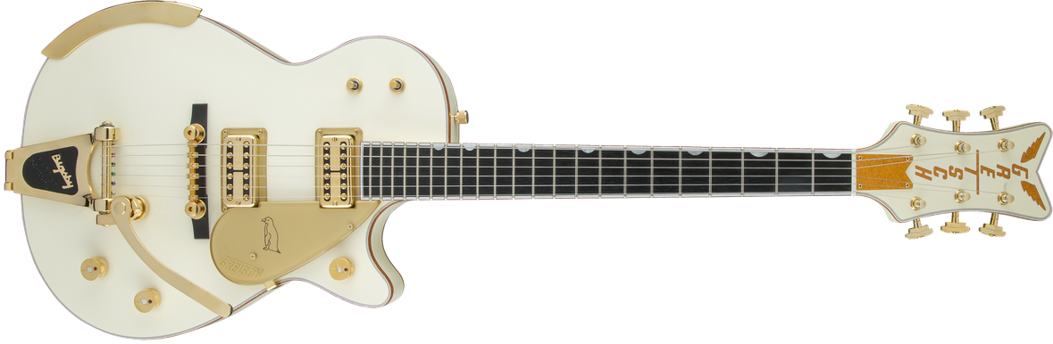 G6134T-58 Vintage Select '58 Penguin™ with Bigsby®, TV Jones®, Vintage White