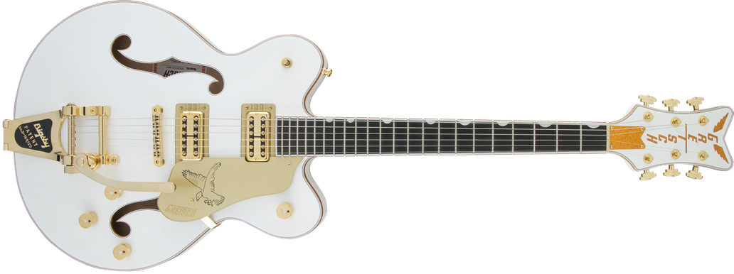 G6636T Players Edition Falcon™ Center Block Double-Cut with String-Thru Bigsby®, Filter'Tron™ Pickups, White