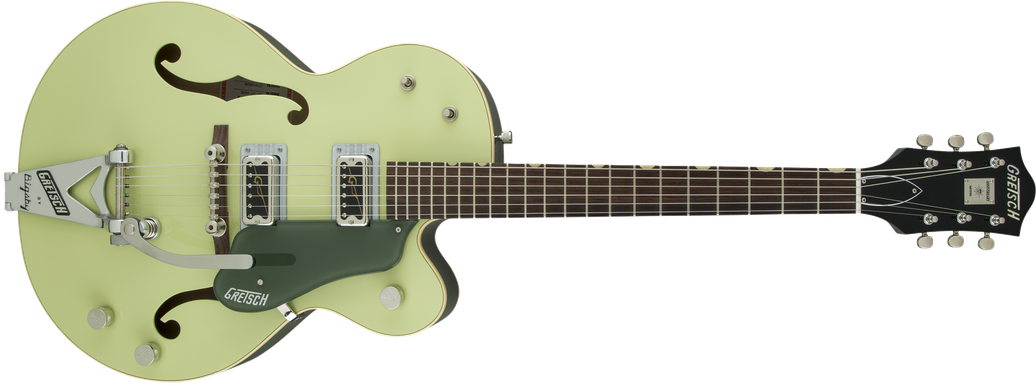 G6118T-60 Vintage Select Edition '60 Anniversary™ Hollow Body with Bigsby®, TV Jones®, 2-Tone Smoke Green