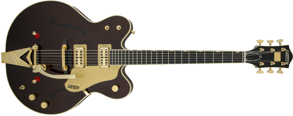 G6122T-62 Vintage Select Edition '62 Chet Atkins® Country Gentleman® Hollow Body with Bigsby®, TV Jones®, Walnut Stain