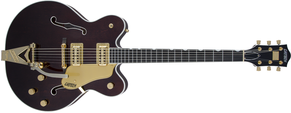 G6122T Players Edition Country Gentleman® with String-Thru Bigsby®, Filter'Tron™ Pickups, Walnut Stain
