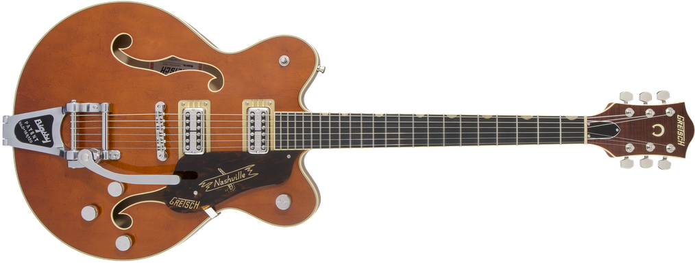 G6620T Players Edition Nashville® Center Block Double-Cut with String-Thru Bigsby®, Filter'Tron™ Pickups, Round-Up Orange