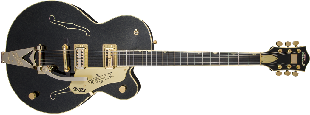 G6120T-SW Steve Wariner Signature Nashville® Gentleman with Bigsby®, Ebony Fingerboard, Magic Black