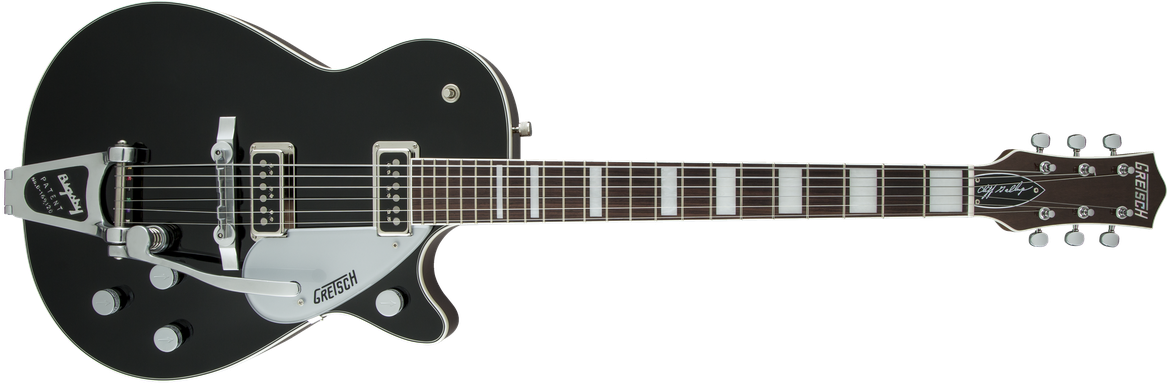G6128T-CLFG Cliff Gallup Signature Duo Jet™, Black Lacquer