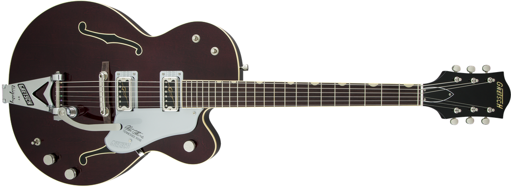 G6119T-62 Vintage Select Edition '62 Tennessee Rose™ Hollow Body with Bigsby®, TV Jones®, Dark Cherry Stain
