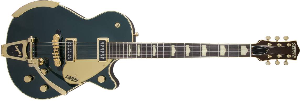 G6128T-57 Vintage Select '57 Duo Jet™ with Bigsby®, TV Jones®, Cadillac Green
