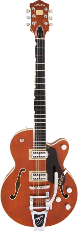 G6659T Players Edition Broadkaster® Jr. Center Block Single-Cut with String-Thru Bigsby®