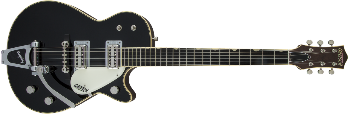 G6128T-59 Vintage Select '59 Duo Jet™ with Bigsby®, TV Jones®, Black