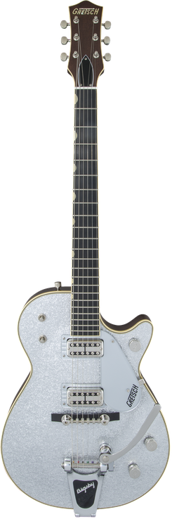 G6129T-59 Vintage Select '59 Silver Jet™ with Bigsby®