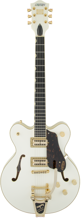 G6609TG Players Edition Broadkaster® Center Block Double-Cut with String-Thru Bigsby® and Gold Hardware