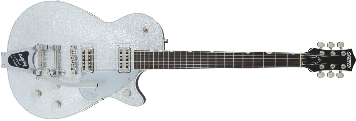 G6129T Players Edition Jet™ FT with Bigsby®, Rosewood Fingerboard, Silver Sparkle