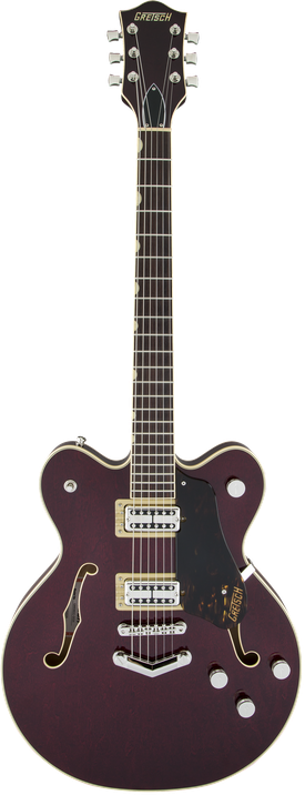 G6609 Players Edition Broadkaster® Center Block Double-Cut with V-Stoptail