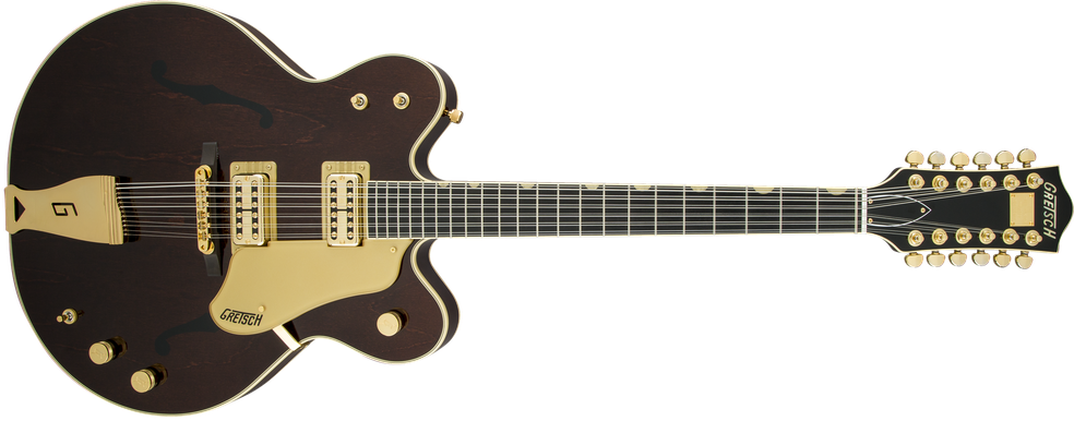 G6122-6212 Vintage Select Edition '62 Chet Atkins® Country Gentleman® Hollow Body 12-String, TV Jones®, Walnut Stain