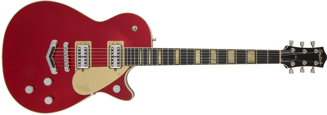 G6228 Players Edition Jet™ BT with V-Stoptail, Rosewood Fingerboard, Candy Apple Red