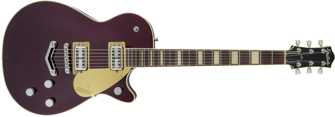 G6228 Players Edition Jet™ BT with V-Stoptail, Rosewood Fingerboard, Dark Cherry Metallic