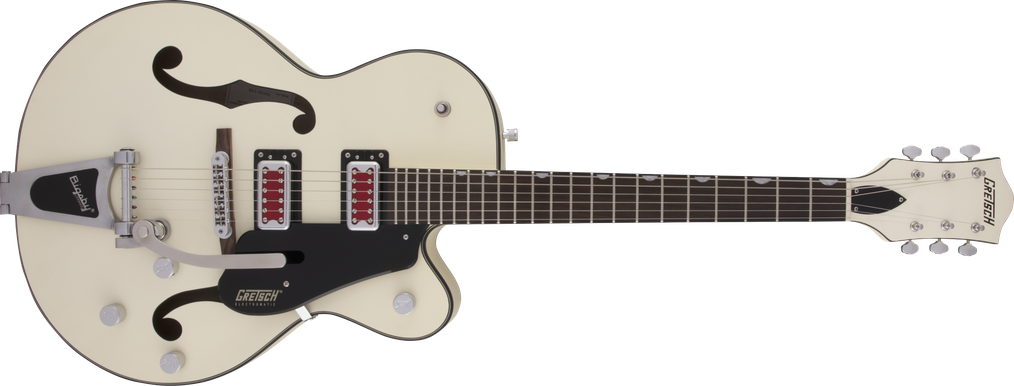 "G5410T Electromatic® ""Rat Rod"" Hollow Body Single-Cut with Bigsby®, Rosewood Fingerboard, Matte Vintage White"