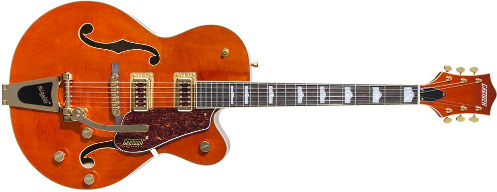 Limited Edition - G5420TG Limited Edition Electromatic® '50s Hollow Body Single-Cut with Bigsby® and Gold Hardware, Rosewood Fingerboard, Orange Stain